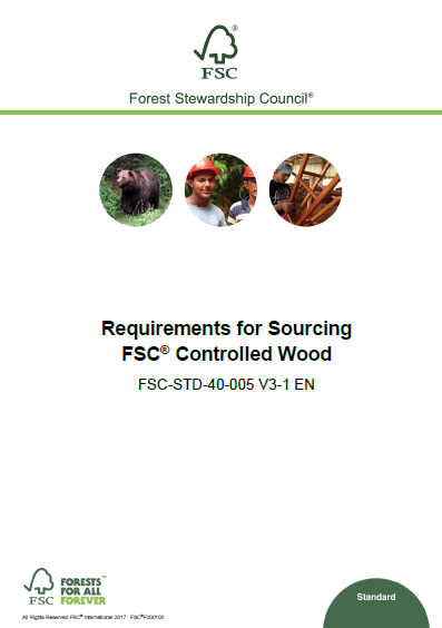 FSC Requirements for Sourcing CW