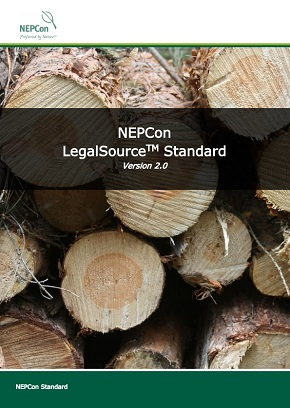 LegalSource standard front page