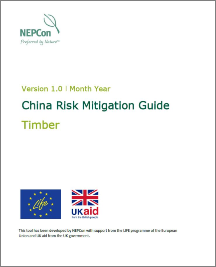 Timber Risk tools