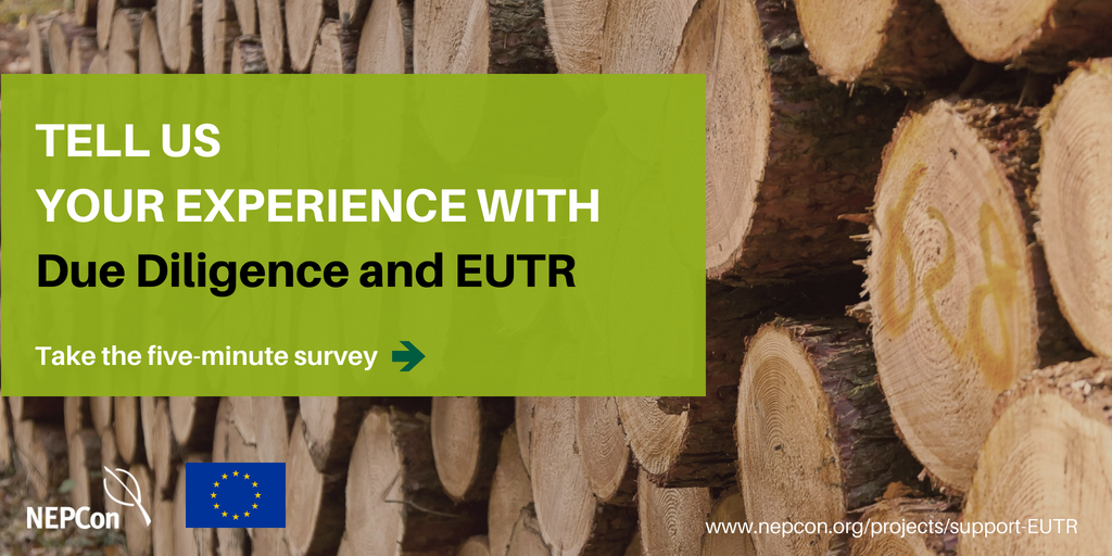 Survey banner_ Legal timber in the EU 2018