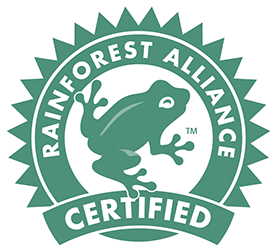 The Rainforest Alliance Certified™ seal