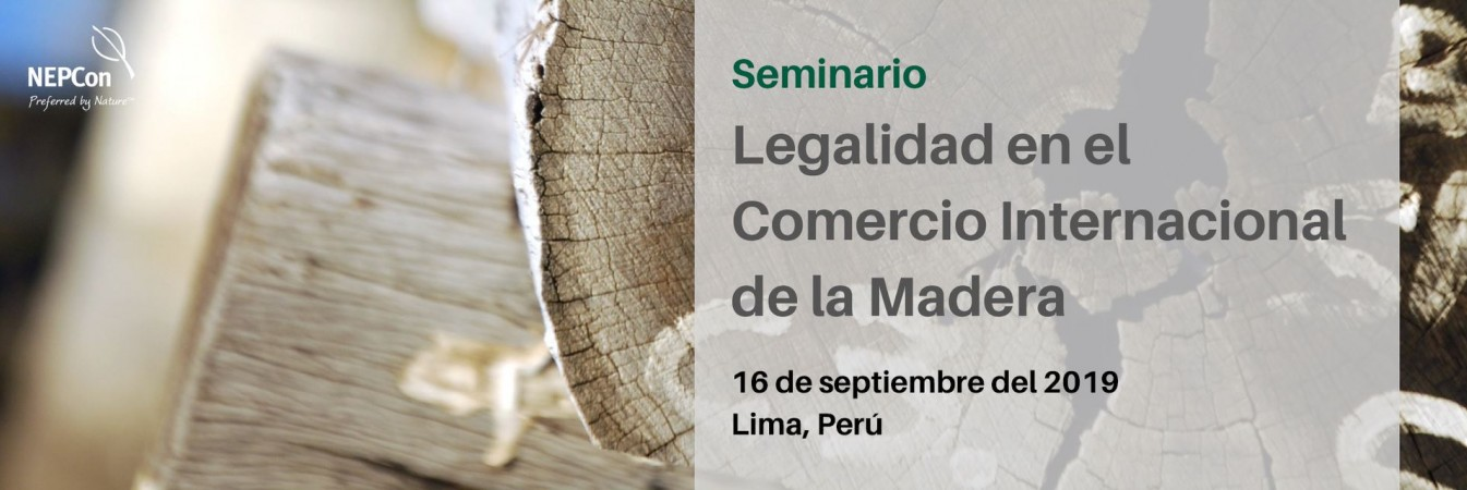 Legality seminar in Lima