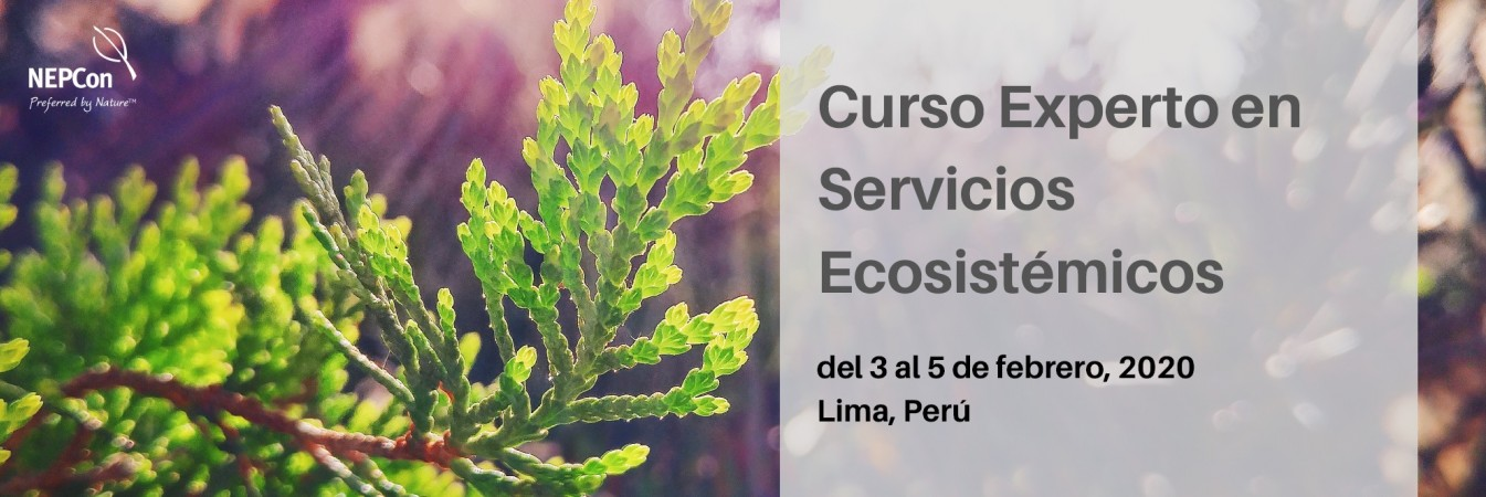 Ecosystem Services Expert Course in Peru