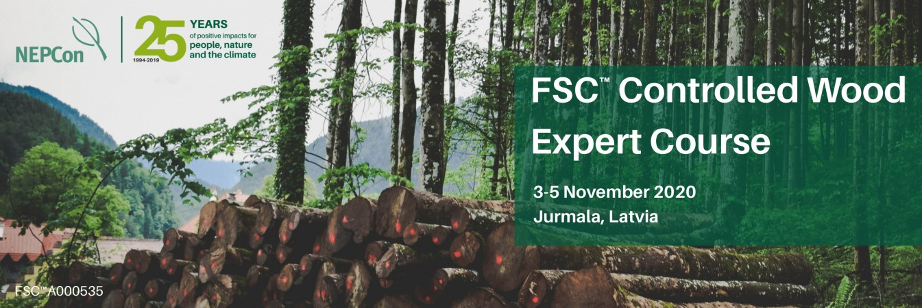 FSC Controlled Wood in Jurmala