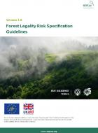 DD-09 Forest Legality Risk Specification Guidelines