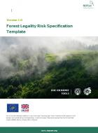 DD-10 Forest Legality Risk Specification Template