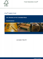 FSC Controlled Wood Directive