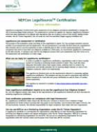 LegalSource certification