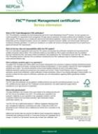 FSC Forest Management certification