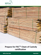 Prepare for FSC CoC certification