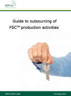 Guide to outsourcing FSC production activities