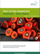 Palm Oil Risk Assessment - Indonesia West Papua