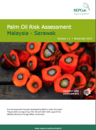 Palm Oil Risk Assessment - Malaysia Sarawak