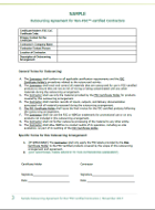 Sample outsourcing agreement