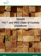 Sample combined FSC and PEFC Chain of Custody Procedures