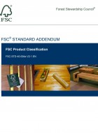 FSC Product Classification