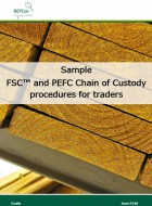 Sample FSC and PEFC Chain of Custody procedures for traders
