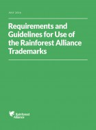 Requirements and Guidelines for Use of the Rainforest Alliance Trademarks
