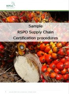 Sample RSPO Supply Chain Certification procedures