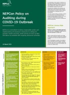 NEPCon Policy on Auditing during Covid-19 Outbreak
