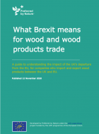 What Brexit Means for Wood and Wood Product Trade