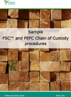 Sample FSC and PEFC CoC procedures