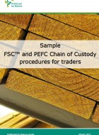 FSC and PEFC CoC procedures