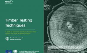 Timber testing front page