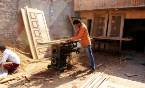 Joining the wave of countries deregulating in favour of wood-framed constructions, India recently ended a 25 year old ban. Most timber is imported and uncertified, but NEPCon and FSC are now trying create awareness of the issues involved in importing wood from countries with poor forestry standards. Photo: Shutterstock