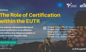 Webinar Role of certification in EUTR